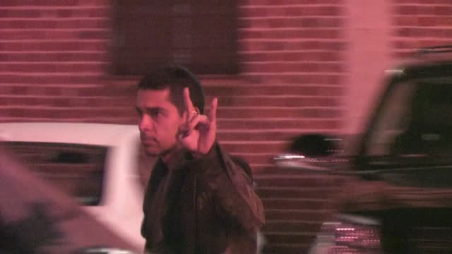 wilmer valderrama at the black eyed peas experience launch party in hollywood 11/21/11 - wilmer valderrama stock videos & royalty-free footage