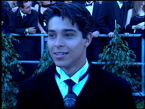 wilmer valderrama at the blockbuster awards 99 at the shrine auditorium in los angeles california on may 25 1999 - wilmer valderrama stock videos & royalty-free footage