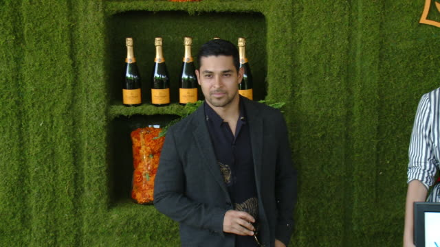 wilmer valderrama at the eighth annual veuve clicquot polo classic los angeles at will rogers state historic park on october 14 2017 in pacific... - wilmer valderrama stock videos & royalty-free footage