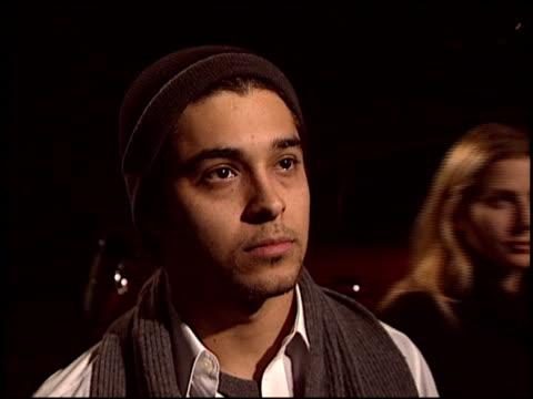 wilmer valderrama at the environmental media awards at ebell theatre in los angeles, california on november 5, 2003. - environmental media awards stock-videos und b-roll-filmmaterial
