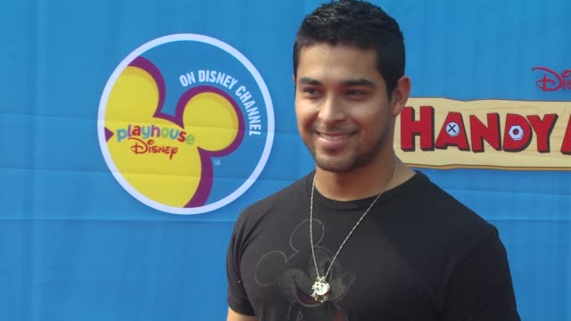 wilmer valderrama at the exclusive premiere of disney channel's 'handy manny motorcycle adventure' at hollywood ca. - wilmer valderrama stock videos & royalty-free footage