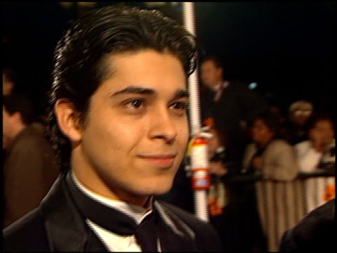 wilmer valderrama at the naacp image awards at pasadena civic auditorium in pasadena california on february 12 2000 - wilmer valderrama stock videos & royalty-free footage