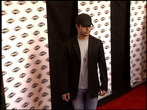 wilmer valderrama at the 'party monster' premiere at orpheum theatre in los angeles california on july 10 2003 - wilmer valderrama stock videos and b-roll footage