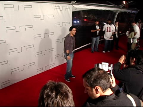wilmer valderrama at the pret-a-psp accessories show at pacific design center in west hollywood, california on march 14, 2005. - wilmer valderrama stock videos & royalty-free footage