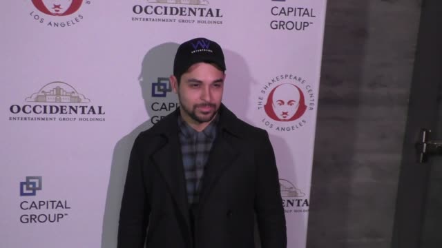 wilmer valderrama at the shakespeare center of los angeles presents 25th annual simply shakespeare benefit at the broad stage in santa monica in... - wilmer valderrama stock videos & royalty-free footage