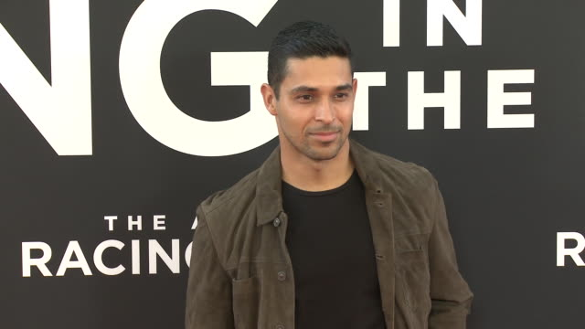 wilmer valderrama at the the art of racing in the rain premiere on august 01 2019 in hollywood california - wilmer valderrama stock videos & royalty-free footage