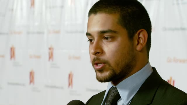 wilmer valderrama at the third annual los angeles gala for the christopher and dana reeve foundation honoring robin williams at the century plaza... - christopher and dana reeve foundation stock videos and b-roll footage