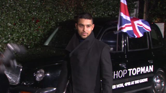 wilmer valderrama at topshop topman la opening party at cecconi's on 2/13/2013 in los angeles ca - wilmer valderrama stock videos and b-roll footage
