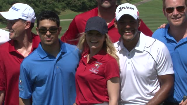 Wilmer Valderrama Jennifer Morrison Amaury Nolasco Matt Leinert and Cole Houser at the 2nd Annual Amaury Nolasco Friends Golf Classic at Fajardo