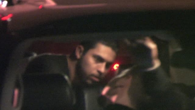 wilmer valderrama leaving premiere supper club in hollywood at the celebrity sightings in los angeles at los angeles ca - wilmer valderrama stock videos & royalty-free footage