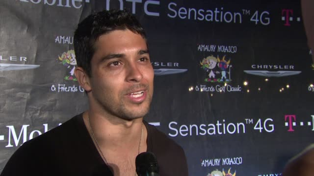 wilmer valderrama on being in puerto rico and on supporting amaury nolasco at the 2nd annual amaury nolasco friends golf classic day 2 at fajardo - wilmer valderrama stock videos & royalty-free footage