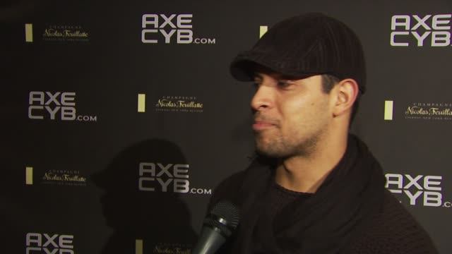 Wilmer Valderrama on if he tries to keep his equipment clean for the ladies at the Axe CYB Party Sundance Film Festival 2010 at Park City UT