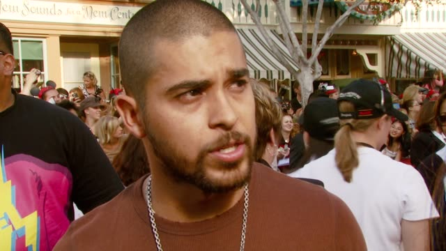 Wilmer Valderrama on loving Johnny Depp's character at the 'Pirates of the Caribbean At World's End' World Premiere at Disneyland in Anaheim...