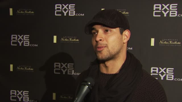 wilmer valderrama on who he's dating these days, and on what projects he has coming up. at the axe cyb party: sundance film festival 2010 at park... - wilmer valderrama stock videos & royalty-free footage
