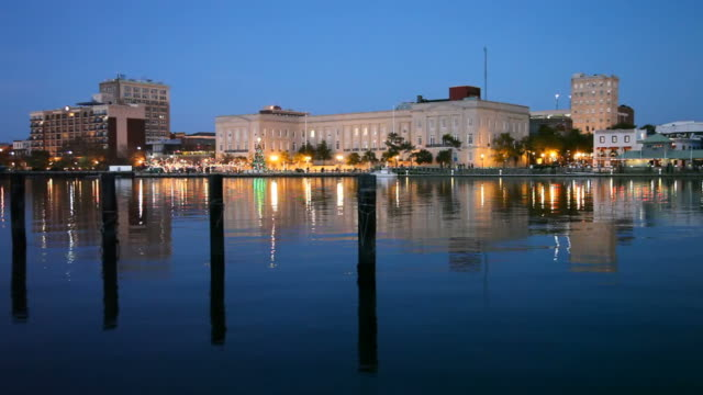 wilmington, north carolina - wilmington north carolina stock-videos und b-roll-filmmaterial