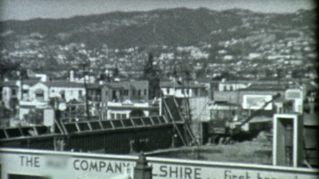 stockvideo's en b-roll-footage met wilshire blvd los angeles 1939 - 1930