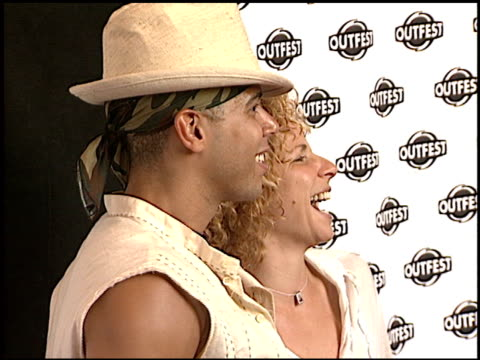wilson cruz at the 'party monster' premiere at orpheum theatre in los angeles, california on july 10, 2003. - orpheum theatre stock videos & royalty-free footage