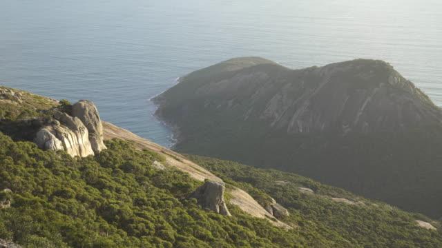 wilsons promontory scenic - granite rock stock videos & royalty-free footage