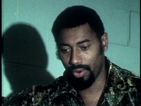 Wilt Chamberlain talks about his rivalry with Bill Russell Wilt Chamberlain Talks About Playing the NY Knicks on January 01 1973 in New York New York