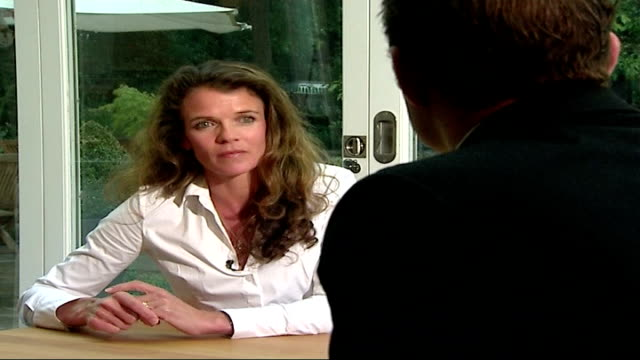 andy murray withdraws with wrist injury london annabel croft interview sot months to recover - croft stock videos & royalty-free footage