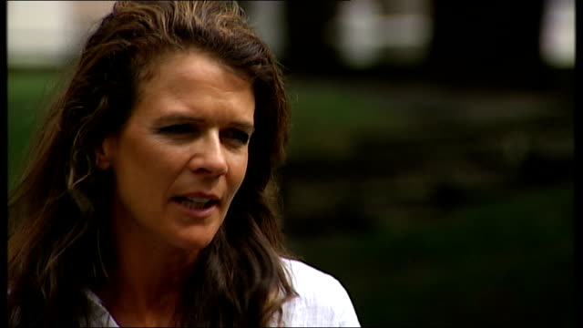 wimbledon champion marion bartoli retires at 28 england london ext annabel croft set up shot with reporter / interview sot will herbert set up shot... - sports champion stock videos and b-roll footage