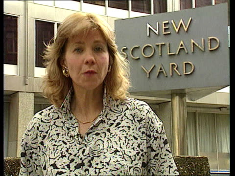 Father appeals for help ITN ENGLAND London New Scotland Yard Thirkettle i/c SOF sign off