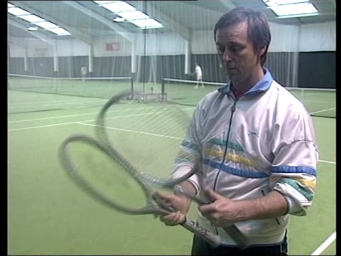 day's play; lib location unknown int former davis cup captain david lloyd - davis cup stock videos & royalty-free footage