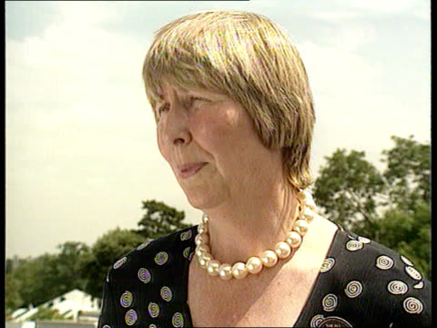 ENGLAND London Wimbledon CMS Christine Truman Janes intvwd SOT When I played her people said she is very promising