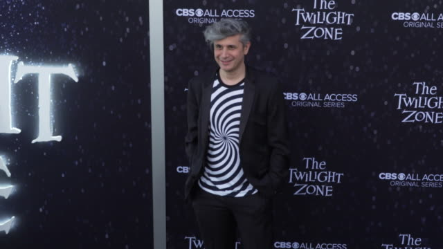 "win rosenfeld at the premiere of ""the twilight zone' at the harmony gold preview house and theater on march 26, 2019 in hollywood, california. - harmony gold preview theatre stock videos & royalty-free footage"