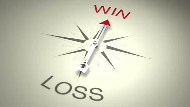 win versus loss - decisions stock videos & royalty-free footage