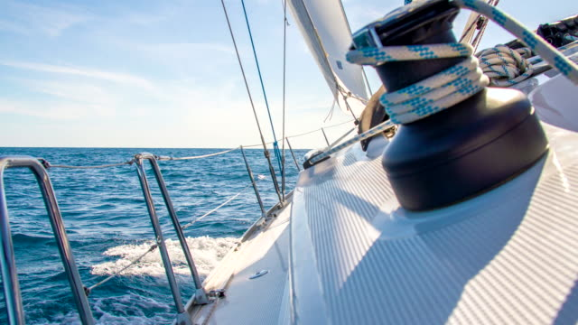 MS Verricello il Ponte di una barca A vela