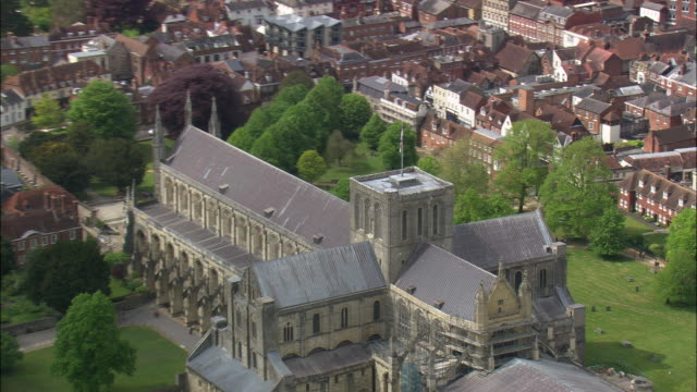 winchester cathedral - hampshire england stock videos and b-roll footage