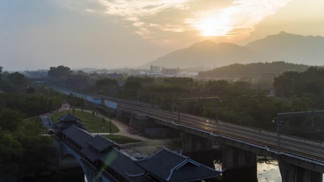 wind and rain bridge ,snajiang, liuzhou, china - covering stock videos & royalty-free footage
