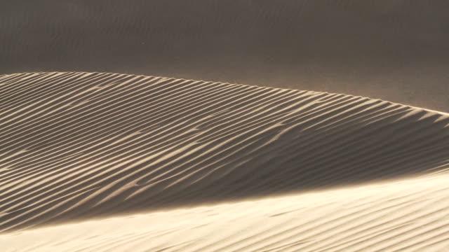 ms wind blowing across sand dune / san pedro de atacama, norte grande, chile - antofagasta region stock videos and b-roll footage