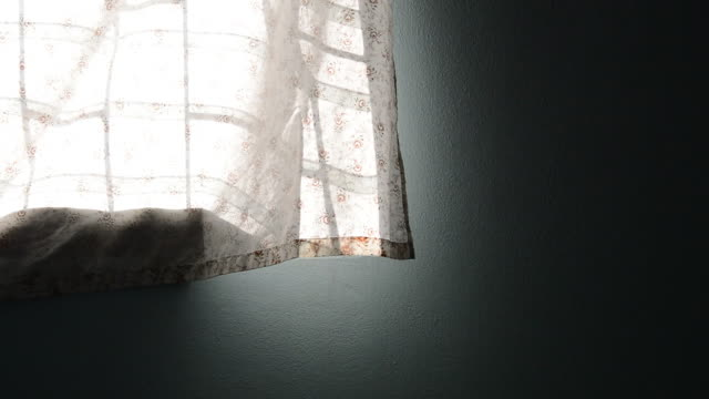 wind blowing curtain