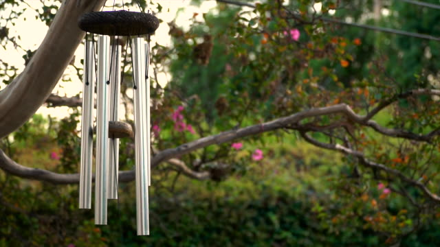 Wind Chime in Slow Motion