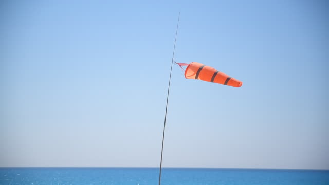 wind direction indicator - flag blowing in the wind stock videos & royalty-free footage