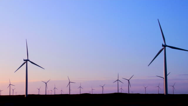 Wind Energy at Sunrise
