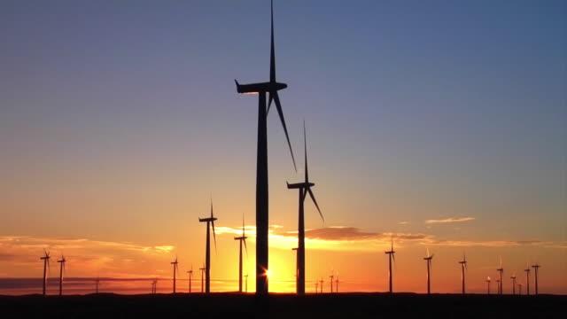 Wind Energy, Golden Sunset