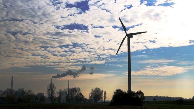 Wind energy plant