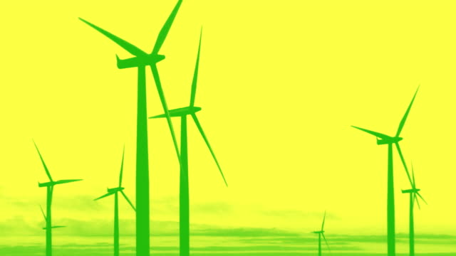 wind energy - medium group of objects stock videos & royalty-free footage