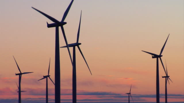 wind energy - windmill stock videos and b-roll footage