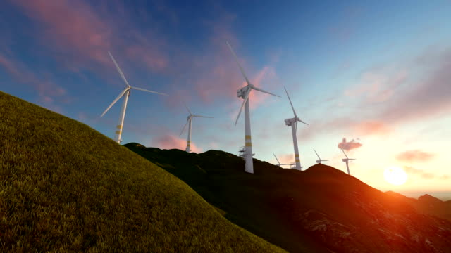 wind energy - windmill stock videos & royalty-free footage