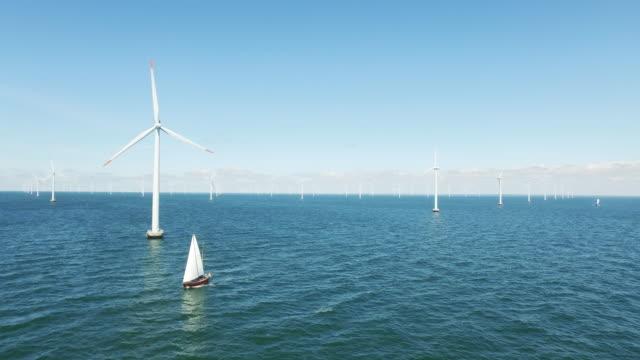 wind energy - 風力発電点の映像素材/bロール