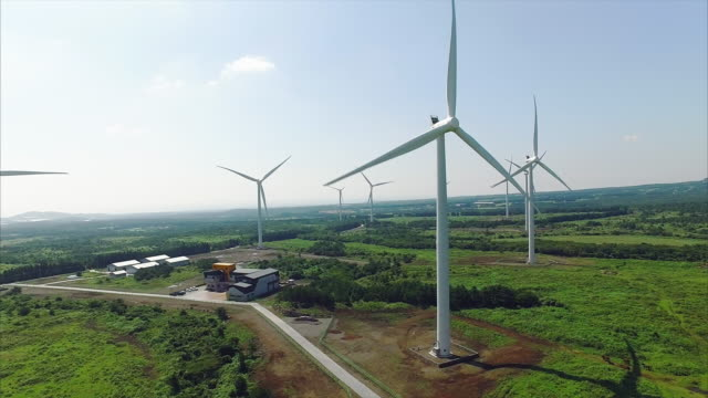 Wind farm in Jeju-do Island