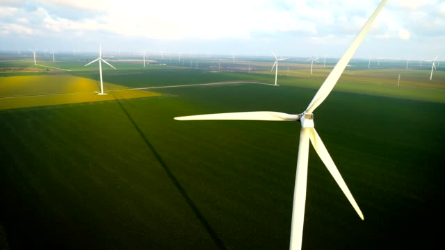 vídeos y material grabado en eventos de stock de wind farm near corpus christi, texas - gulf coast states