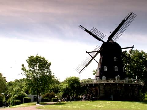 A wind mill Malmo Sweden.