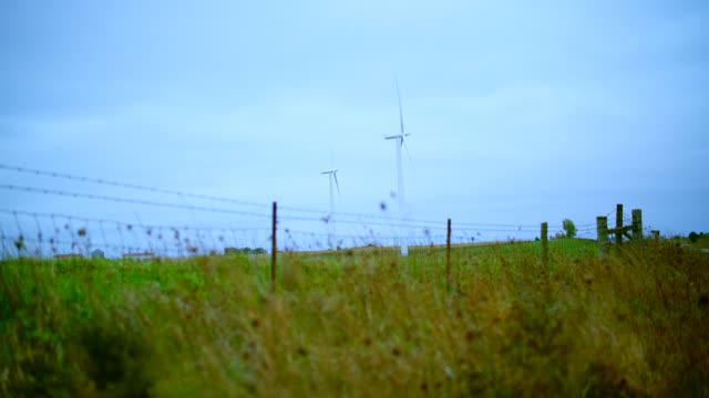 wind power plant in nebraska, usa - nebraska stock videos and b-roll footage