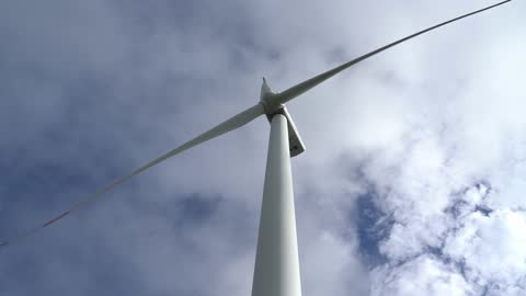 wind power plant on the mountain - power in nature stock videos & royalty-free footage