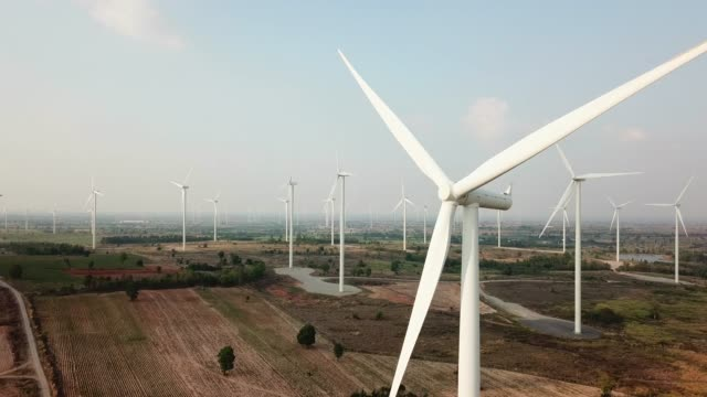 wind power technology - mill stock videos & royalty-free footage
